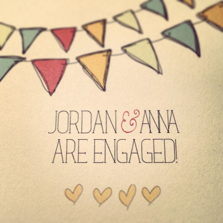 Engagement Party Invitations Etsy