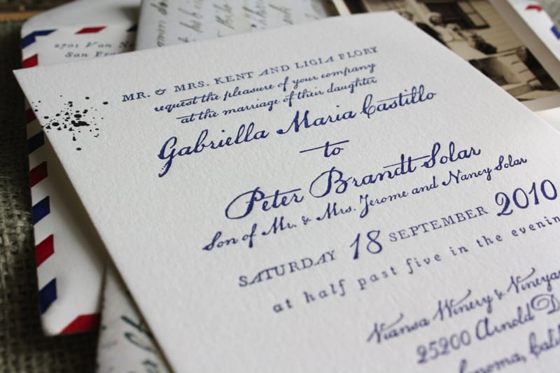 Example Of Peter Pan Birthday Invitation