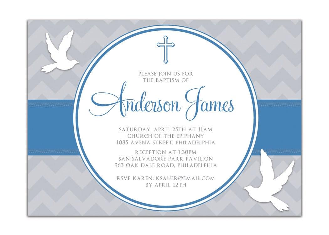 Free Baptism Invitation