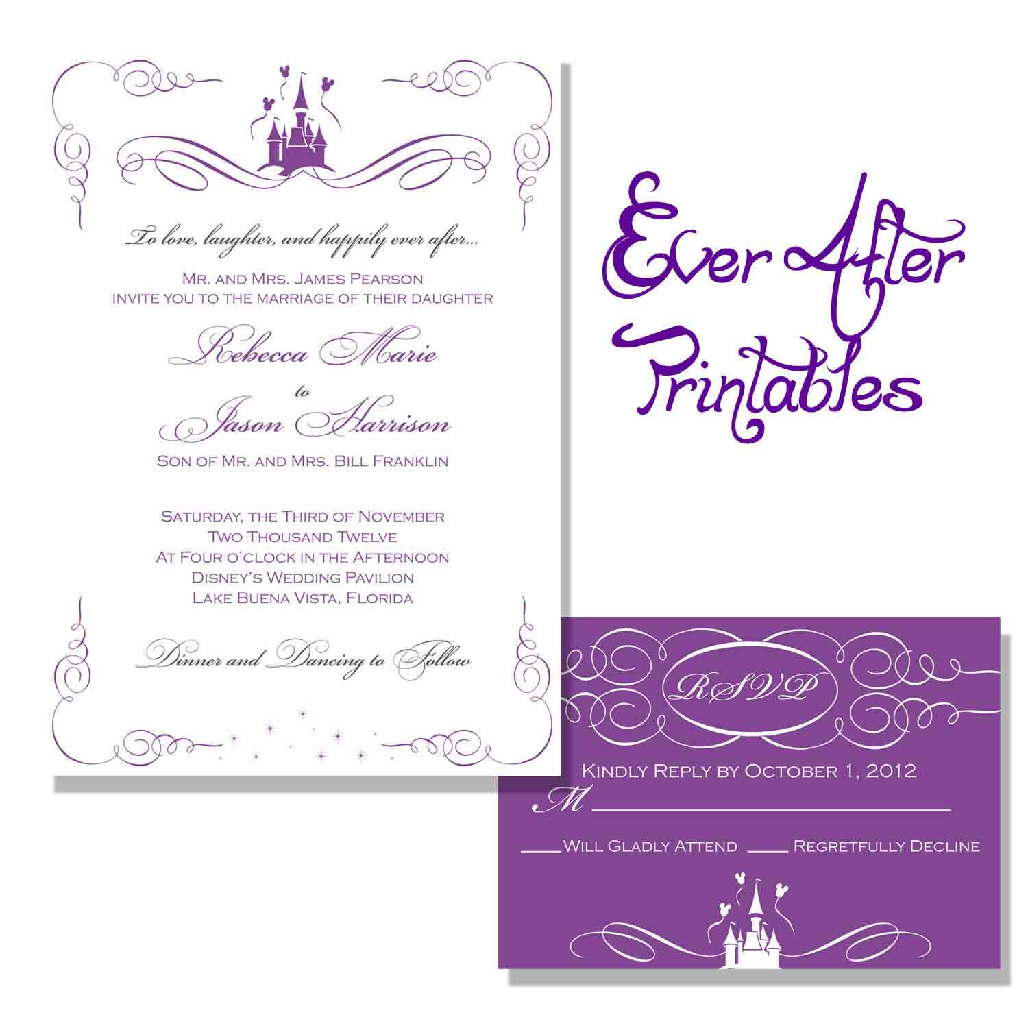 Free Beach Wedding Invitation Wording