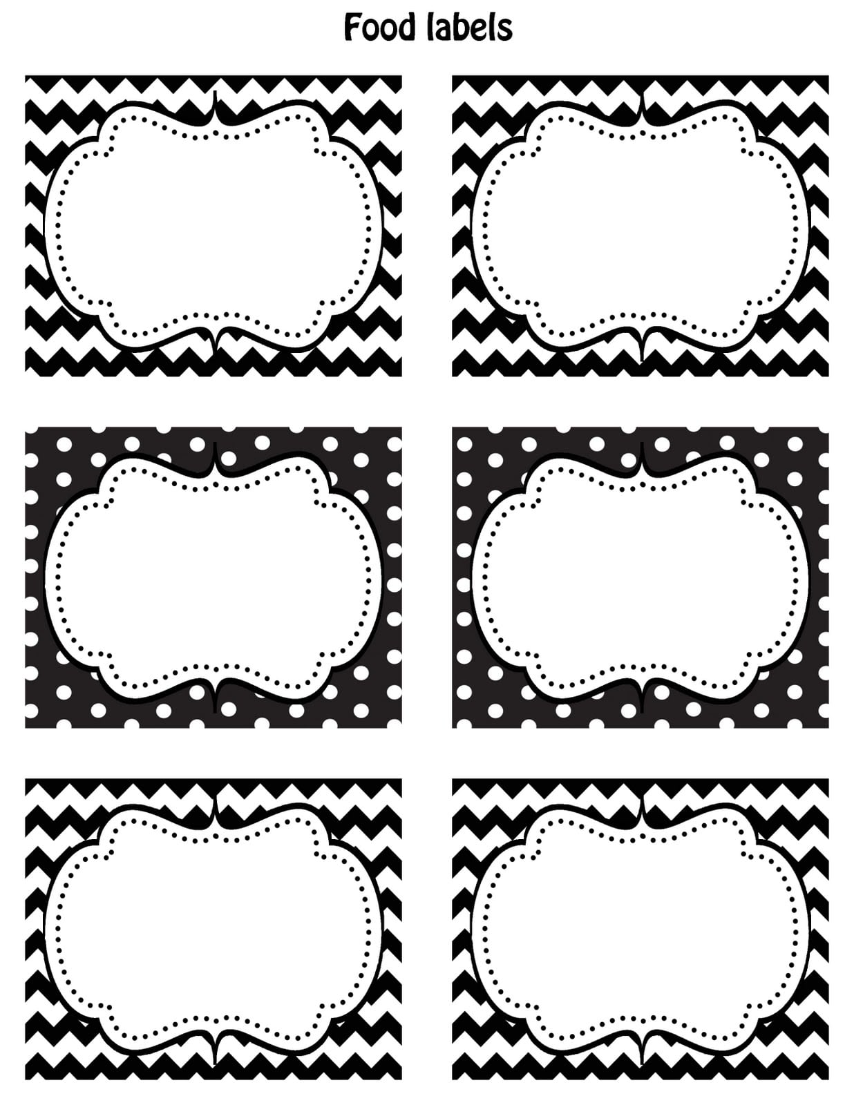 Free Black And White Printable Baby Shower Invitations