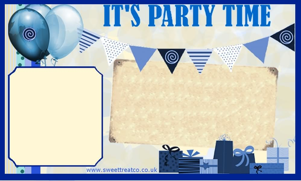 Free Boy Birthday Invitation Template