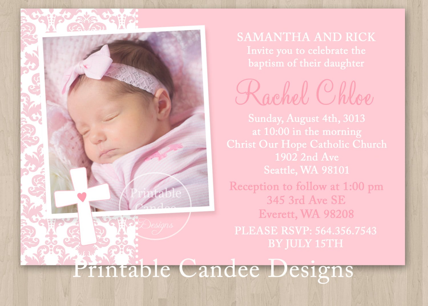 Free Quinceanera Invitation Maker with luxury invitation example