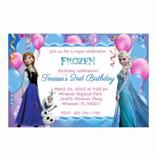 Free Customized Pizza Party Invitation Template