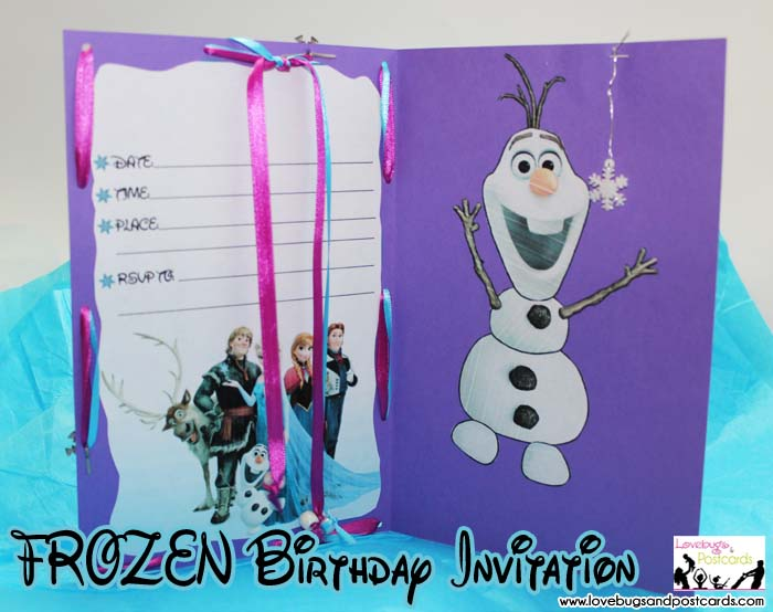 Free Disney Birthday Invitation Template