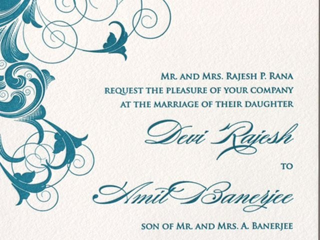 Free Download Template For Wedding Invitations