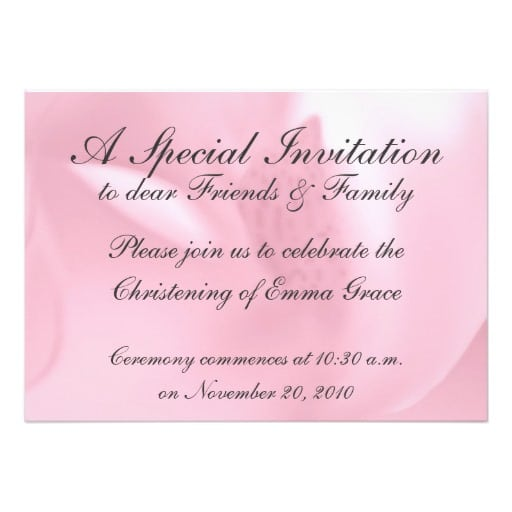 Free Download Templates For Baptism Invitations