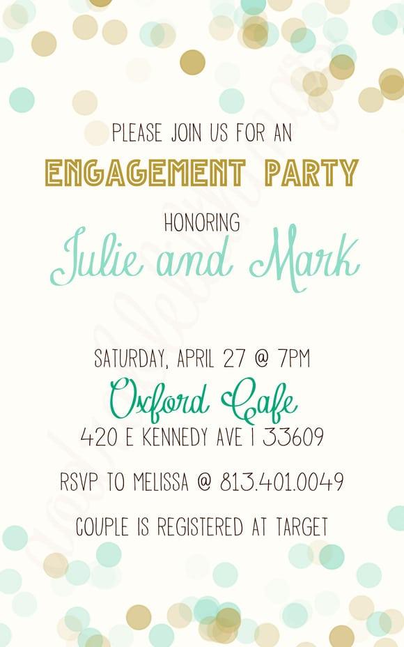 Free Engagement Invitation Templates Online