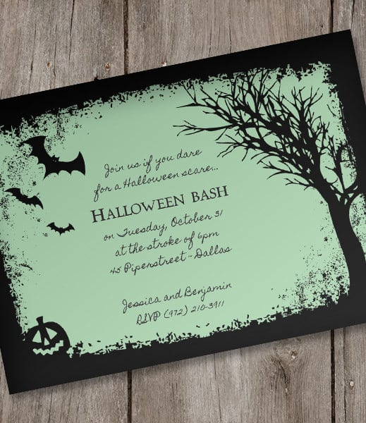 download free halloween invitations