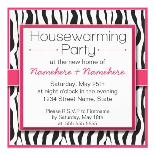 Free Housewarming Party Invitations To Print