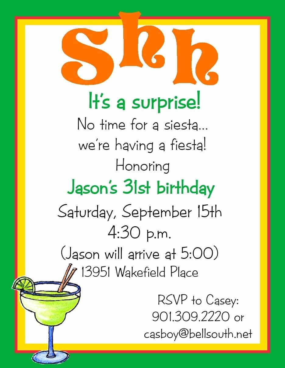 Free Printable Invitations For Surprise Birthday Party