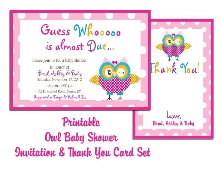 Free Printable Ladybug Baby Shower Invitation