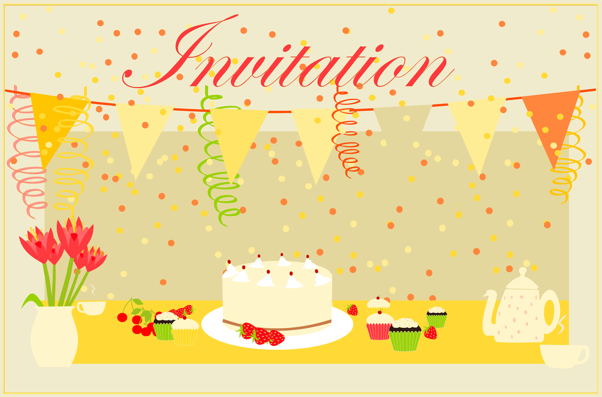 Free Printable Party Invitation Cards