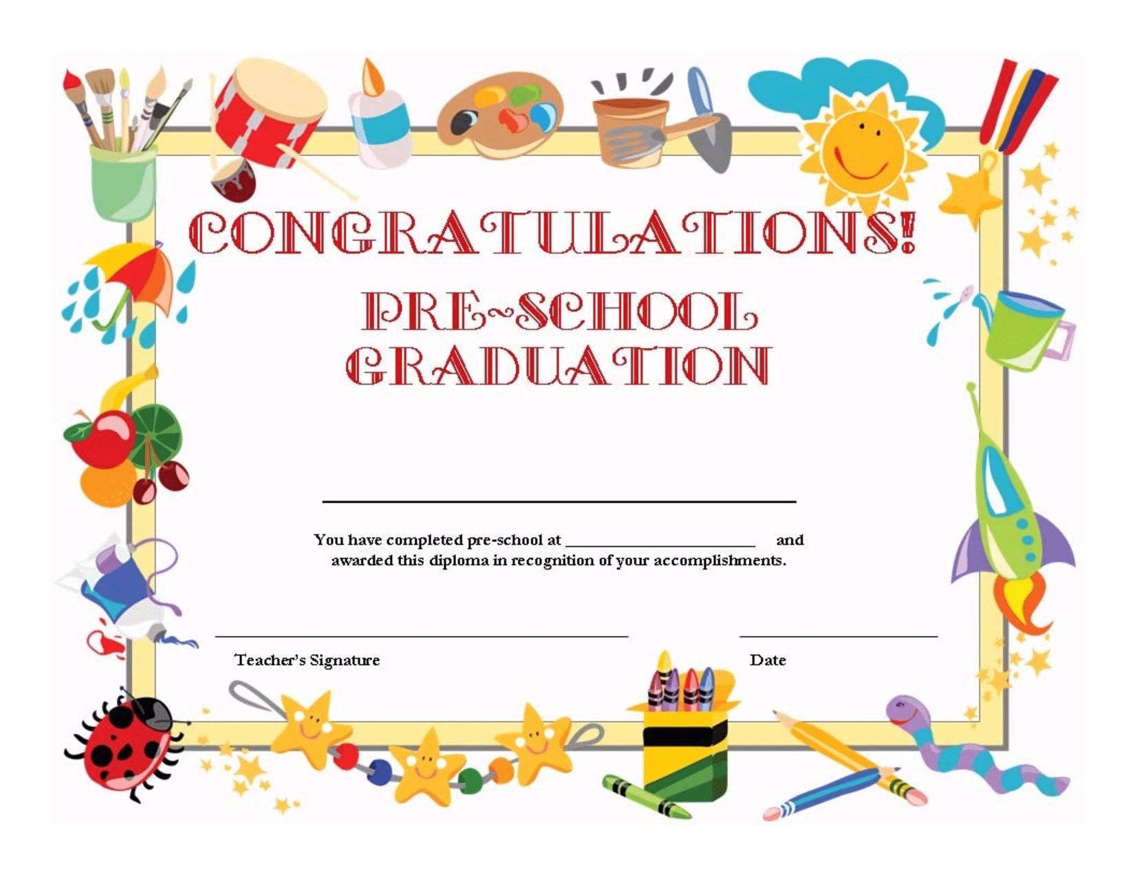 Delicate image with regard to preschool graduation invitations free printable