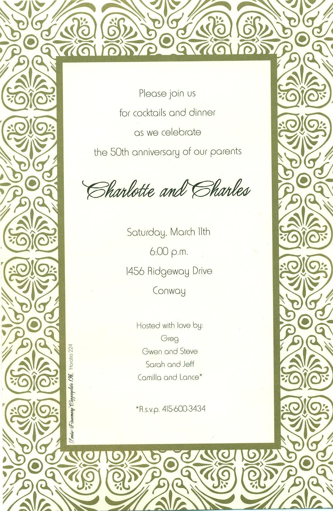 Free Printable Rehearsal Dinner Invitation Templates