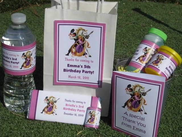 Free Rapunzel Birthday Invitation Templates