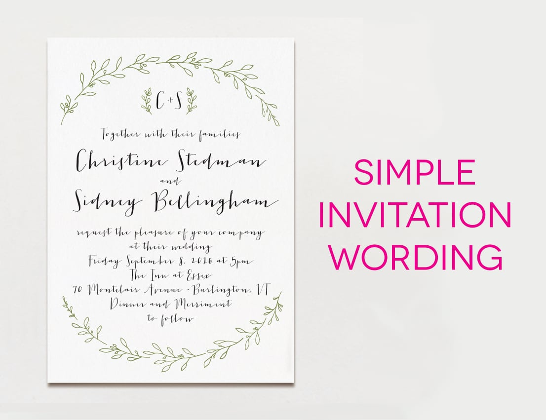 Free Western Wedding Invitation Samples