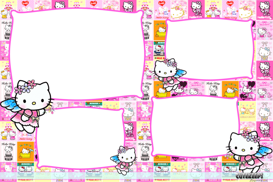 Hello Kitty Birthday Invitation Template Free