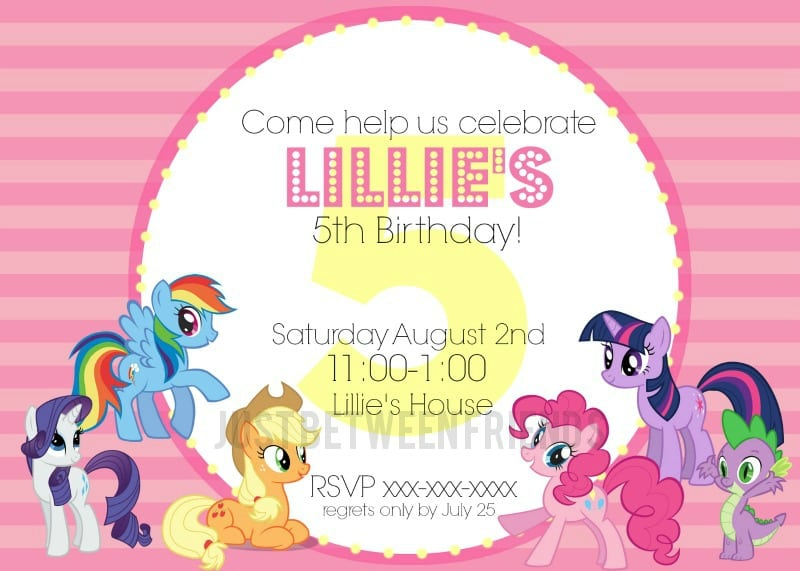 Horse Invitation Template Free