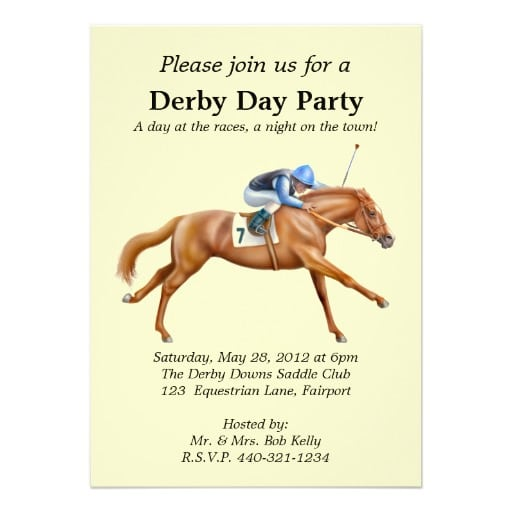 Horse Party Invitations Uk