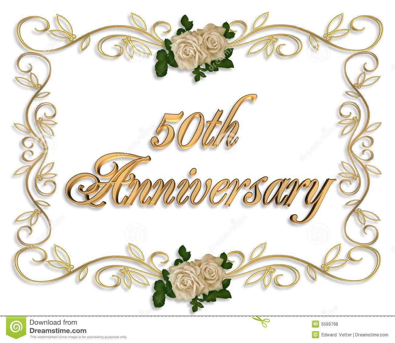 Invitation 50th Anniversary
