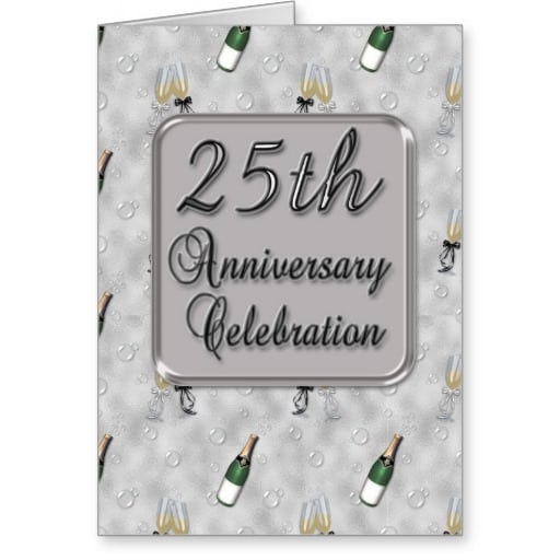 Invitation Card For Anniversary Party