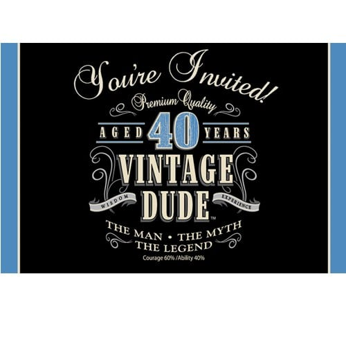Invitation Ideas For 40th Birthday Party