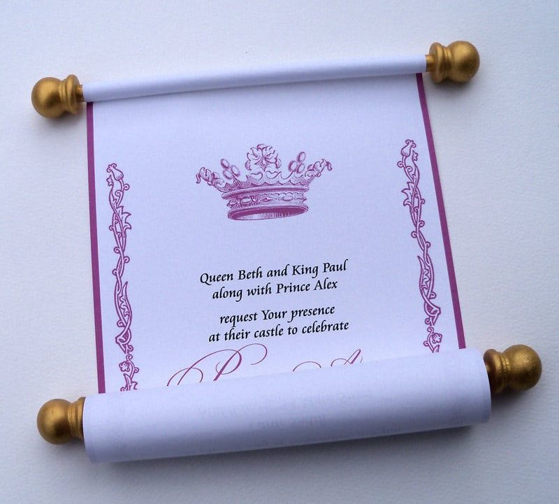 Invitation Ideas For Princess Party