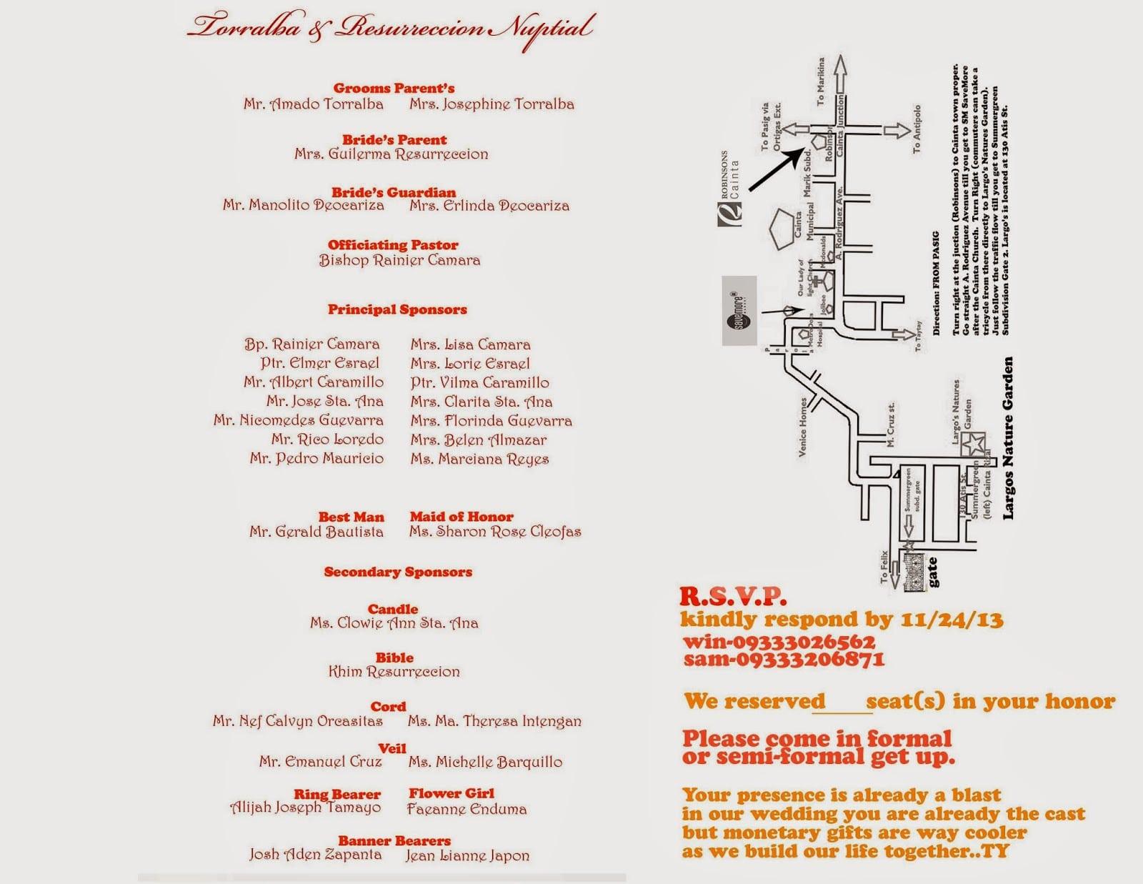 Invitation Maps Diy