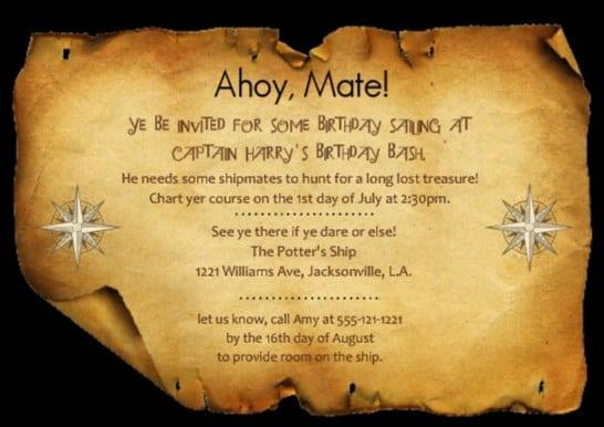 Invitation Maps Free