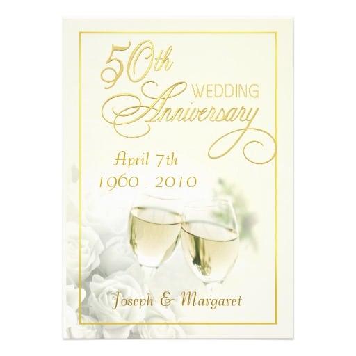 Invitations 50th Anniversary Party