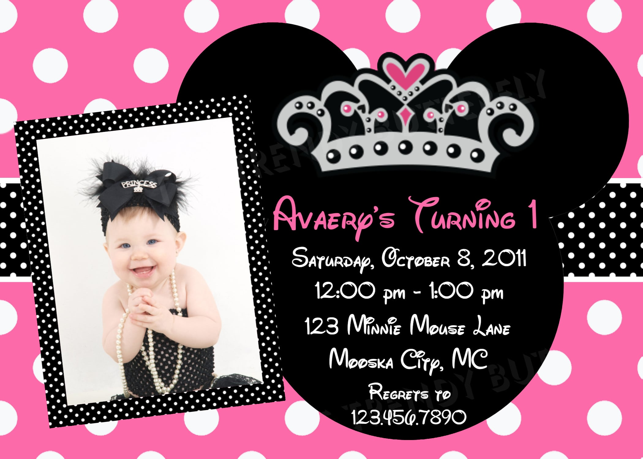 Minnie mouse invitation template download ukrandiffusion invitation template minnie mouse maxwellsz
