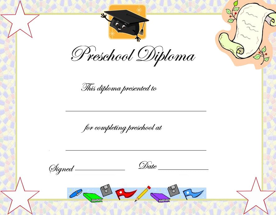 Preschool Graduation Invitation Templates Free