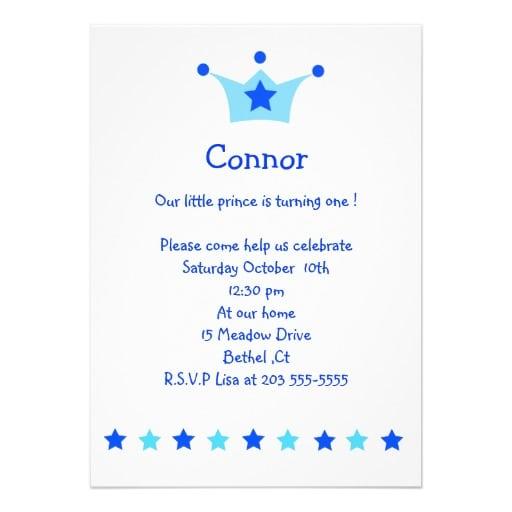 Prince Birthday Invitation Free