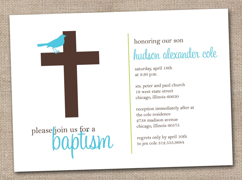 Printable Baptism Invitation Cards Free