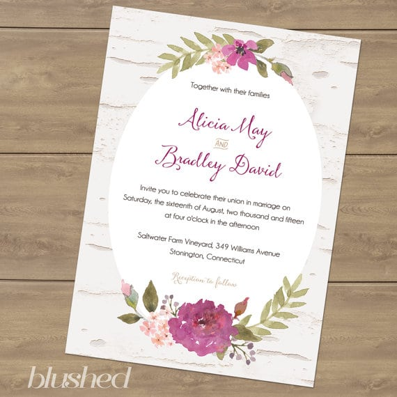 Printable Directions For Invitation