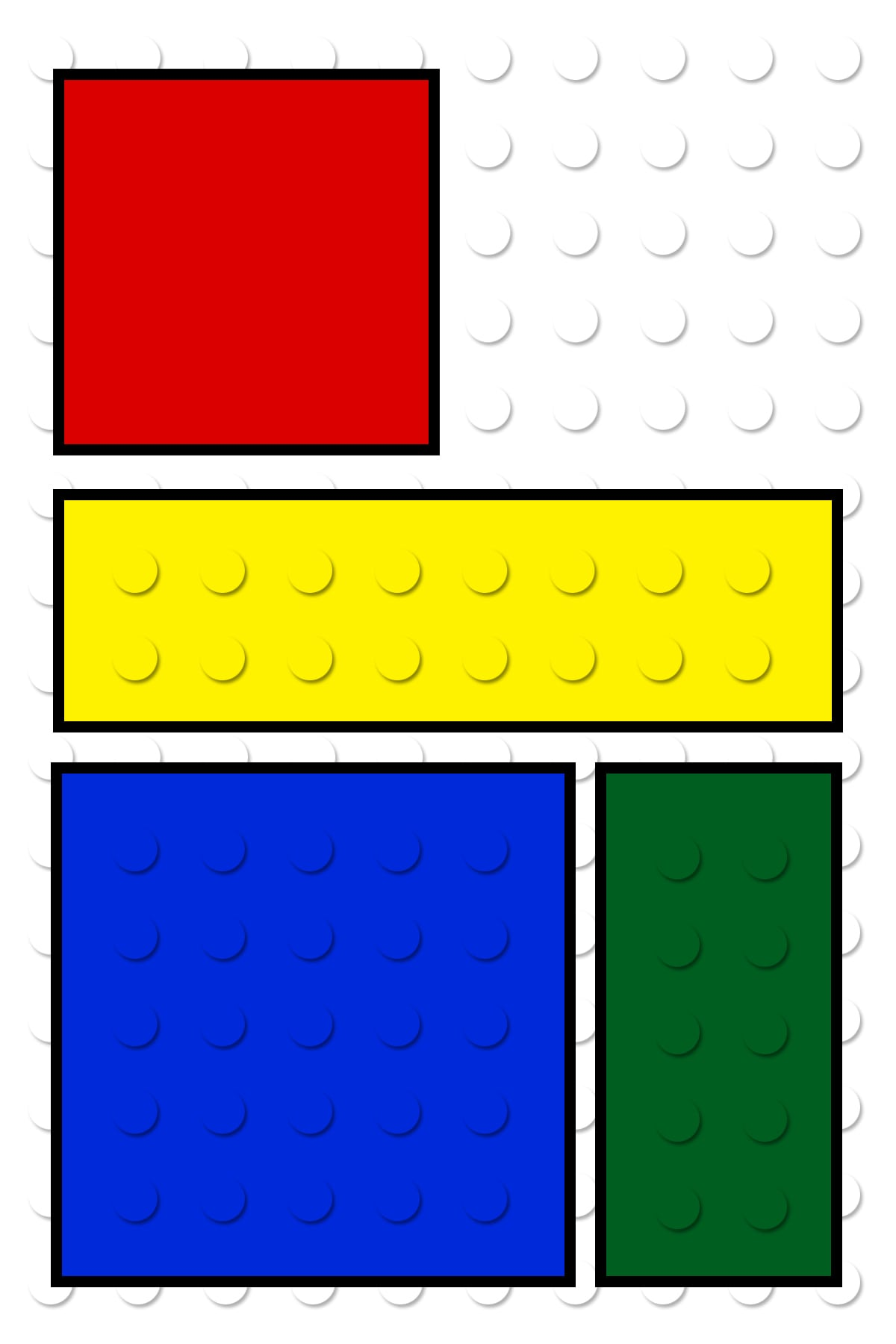 Printable Lego Invitation Cards