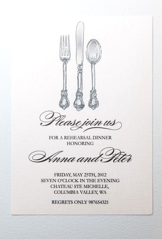Rehearsal Dinner Invitations Free Printable