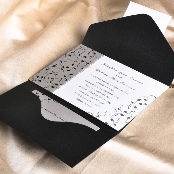 Scroll Invitation Cards Uk