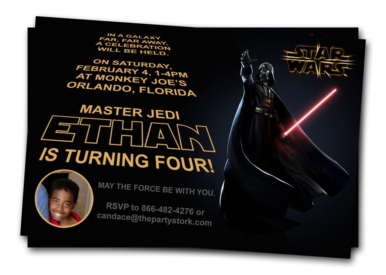 Star Wars Printable Invitation