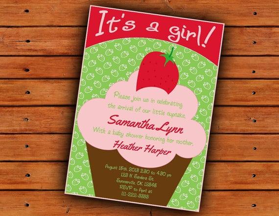 baby shower file name strawberry shortcake invitation for baby shower