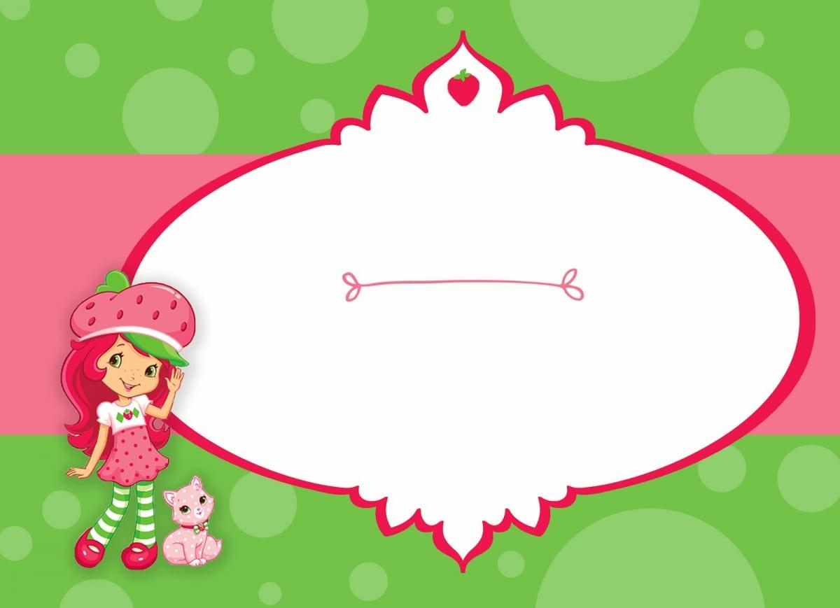 Strawberry Shortcake Invitation Free Download