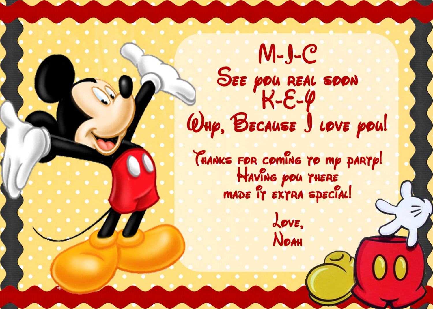 Dorable baby mickey shower invitations ornament invitation card free printable baby mickey mouse invitation filmwisefo