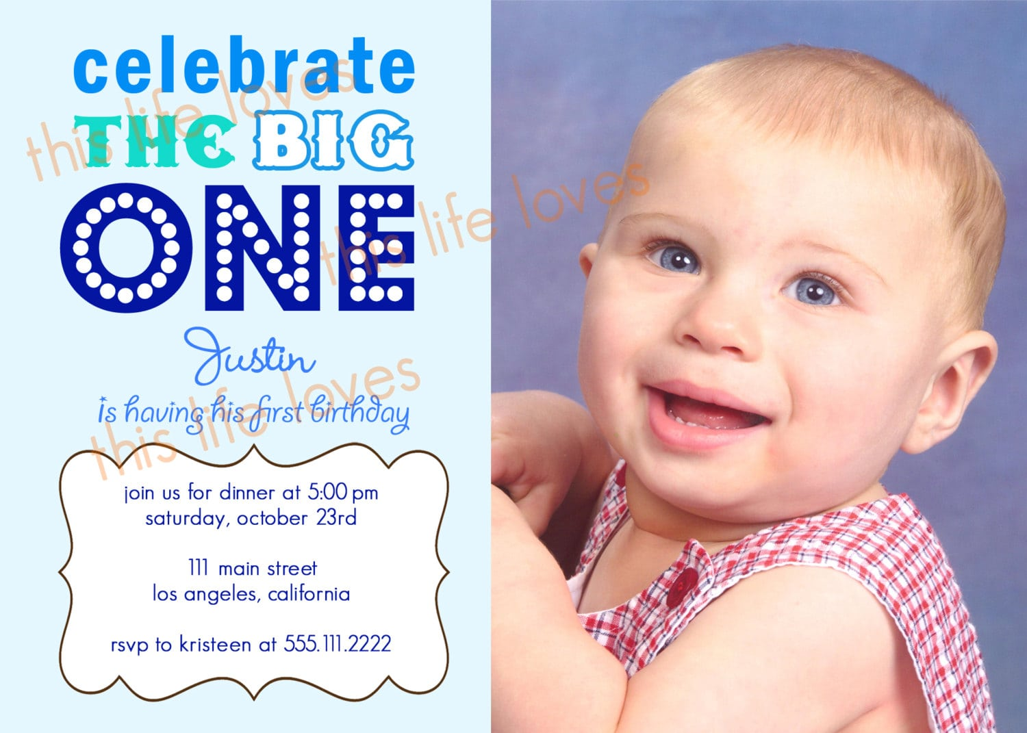 Doc15001071 Free First Birthday Invitation Template First – 1st Birthday Invitations Templates