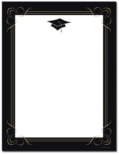 graduation blank invitation. Black Bedroom Furniture Sets. Home Design Ideas