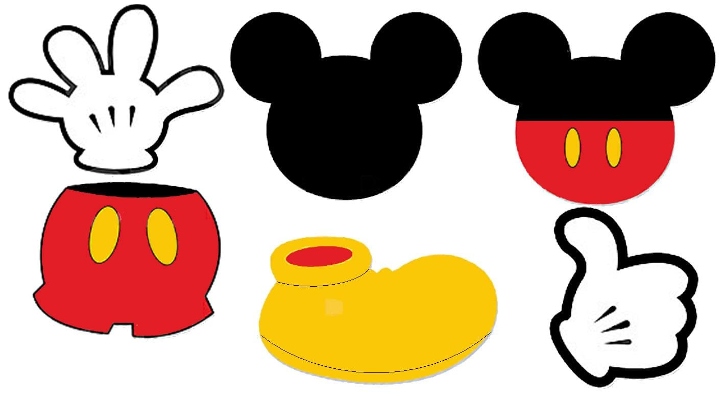 Disney Baby Mickey Mouse 1st Birthday Template Invitation