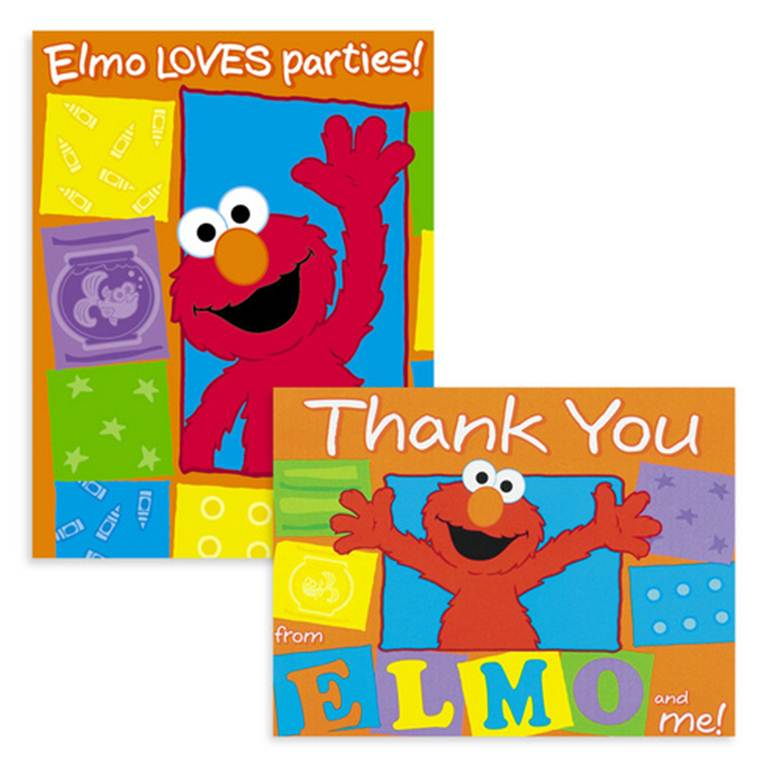 Elmo Invitations Uk