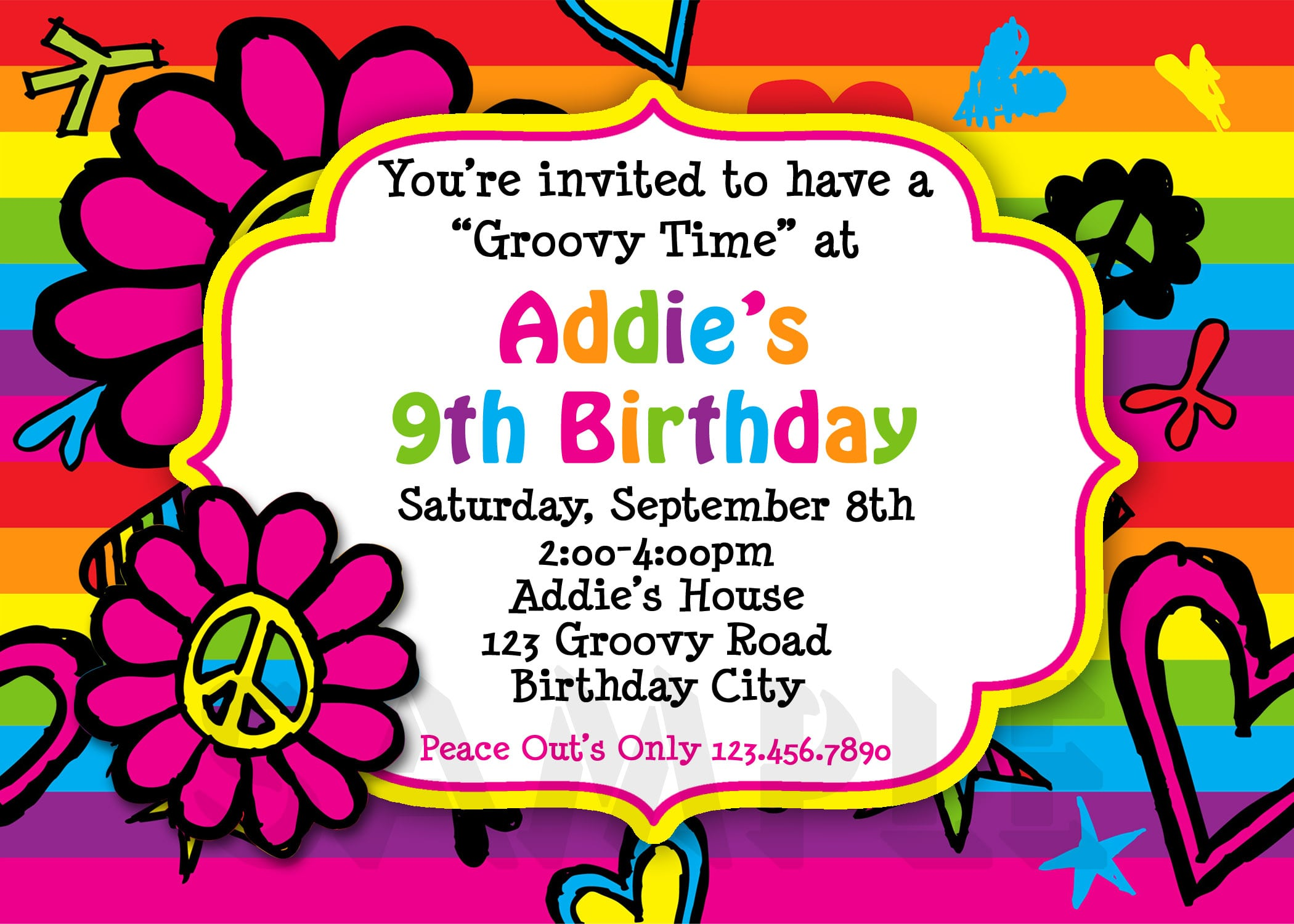 Birthday Invitation For A 10 Year Old Girl – orderecigsjuice.info