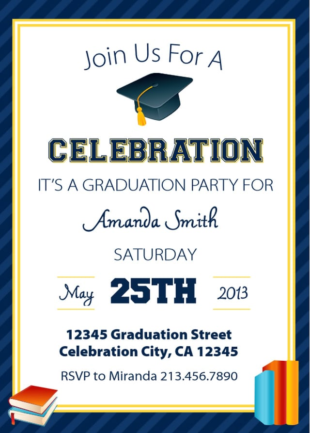 free printable preschool graduation invitations free printable kindergarten graduation invitation 570