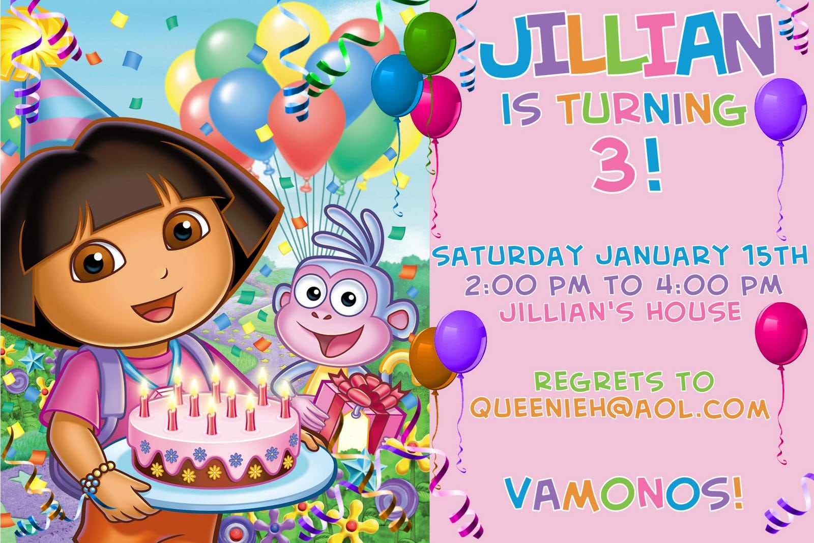 Invitation birthday cards for kids download filmwisefo